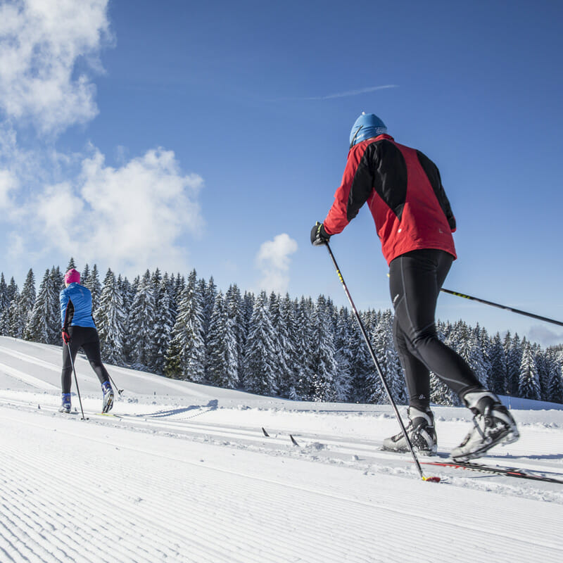 Cross-country skiing in Herzogenhorn