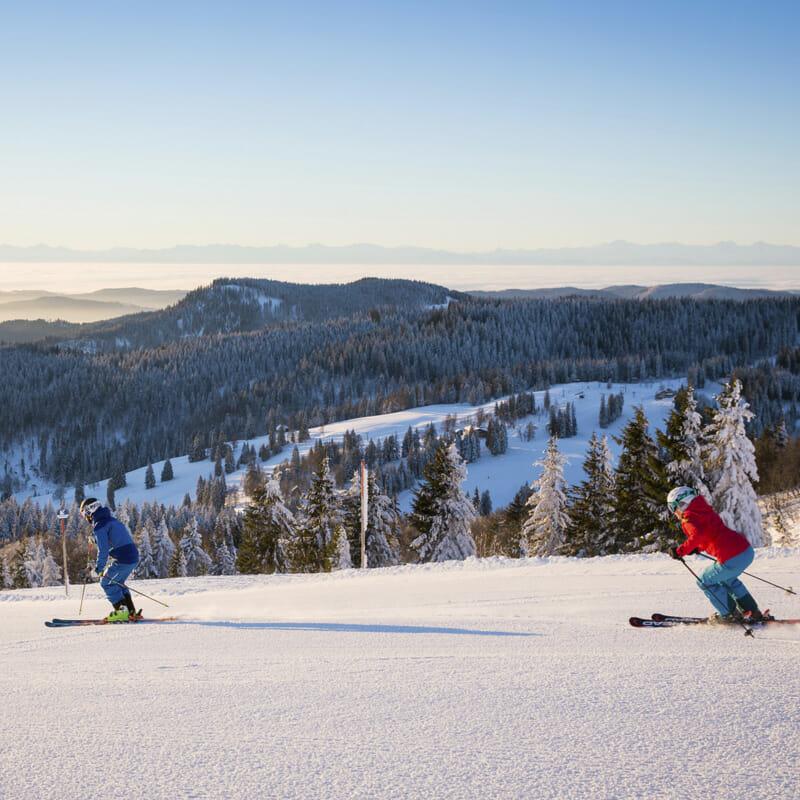 Skiing on Feldberg