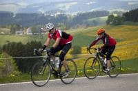 Race biking in the Black Forest Highlands