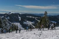 Snowshoe hiking at Feldberg