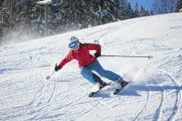 Skiing on Feldberg. Copyright Liftverbund Feldberg