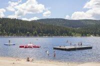 Aqua fun at lake Schluchsee